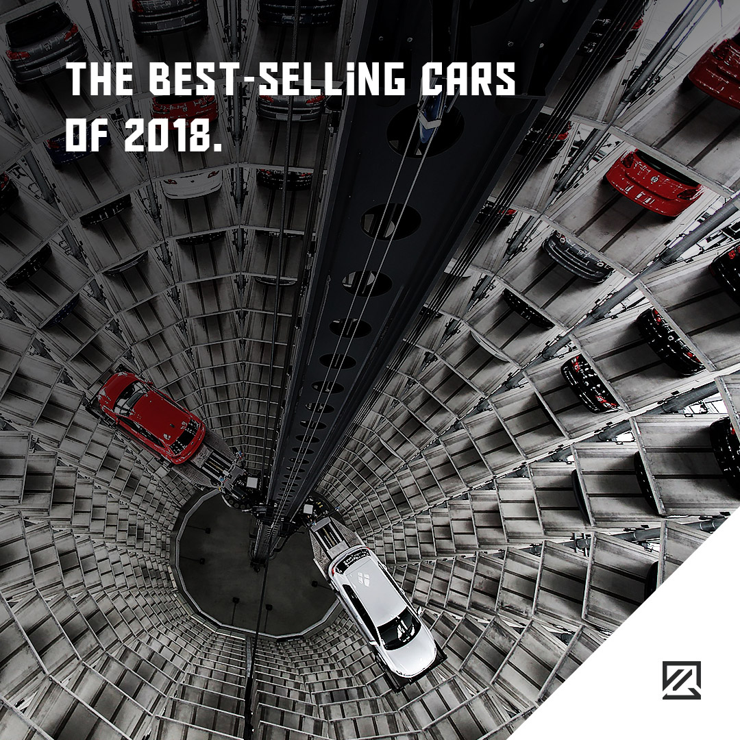 The Best-Selling Cars Of 2018 MILTA Technology