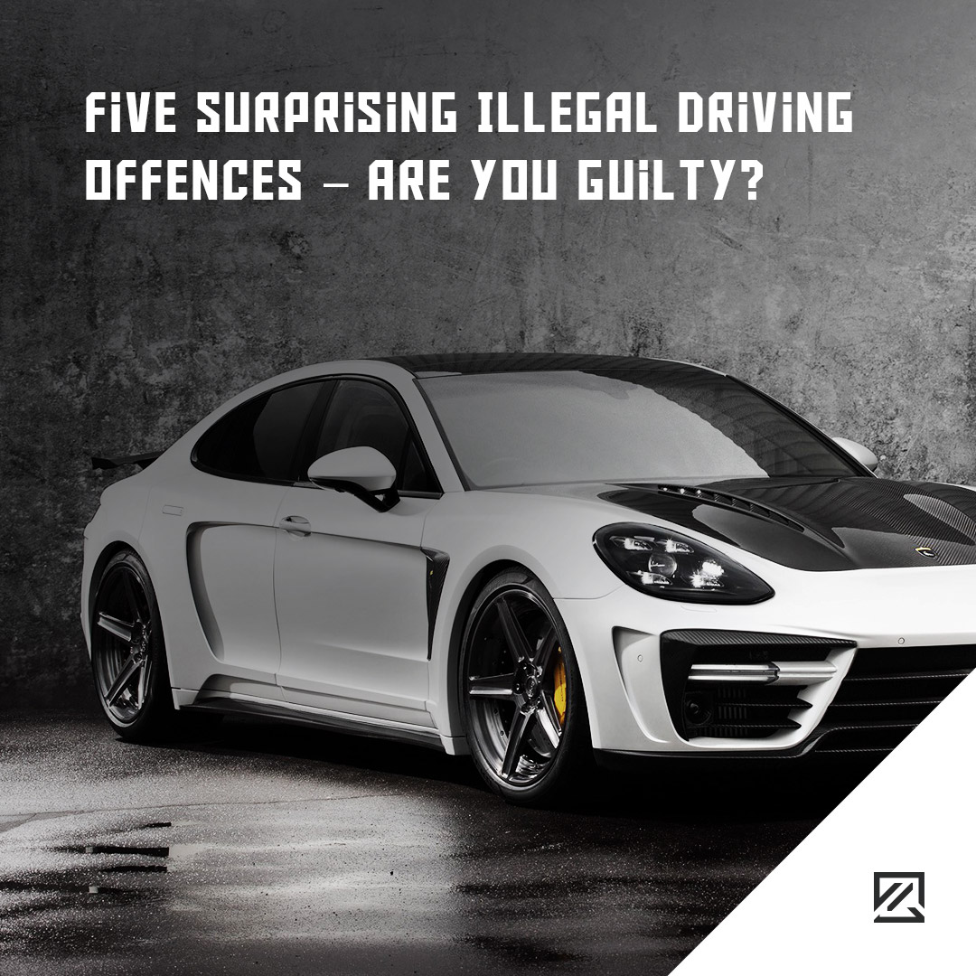 Five Surprising Illegal Driving Offences – Are You Guilty? MILTA Technology