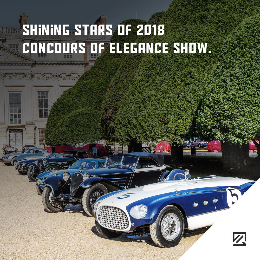 Shining Stars Of 2018 Concours Of Elegance Show MILTA Technology