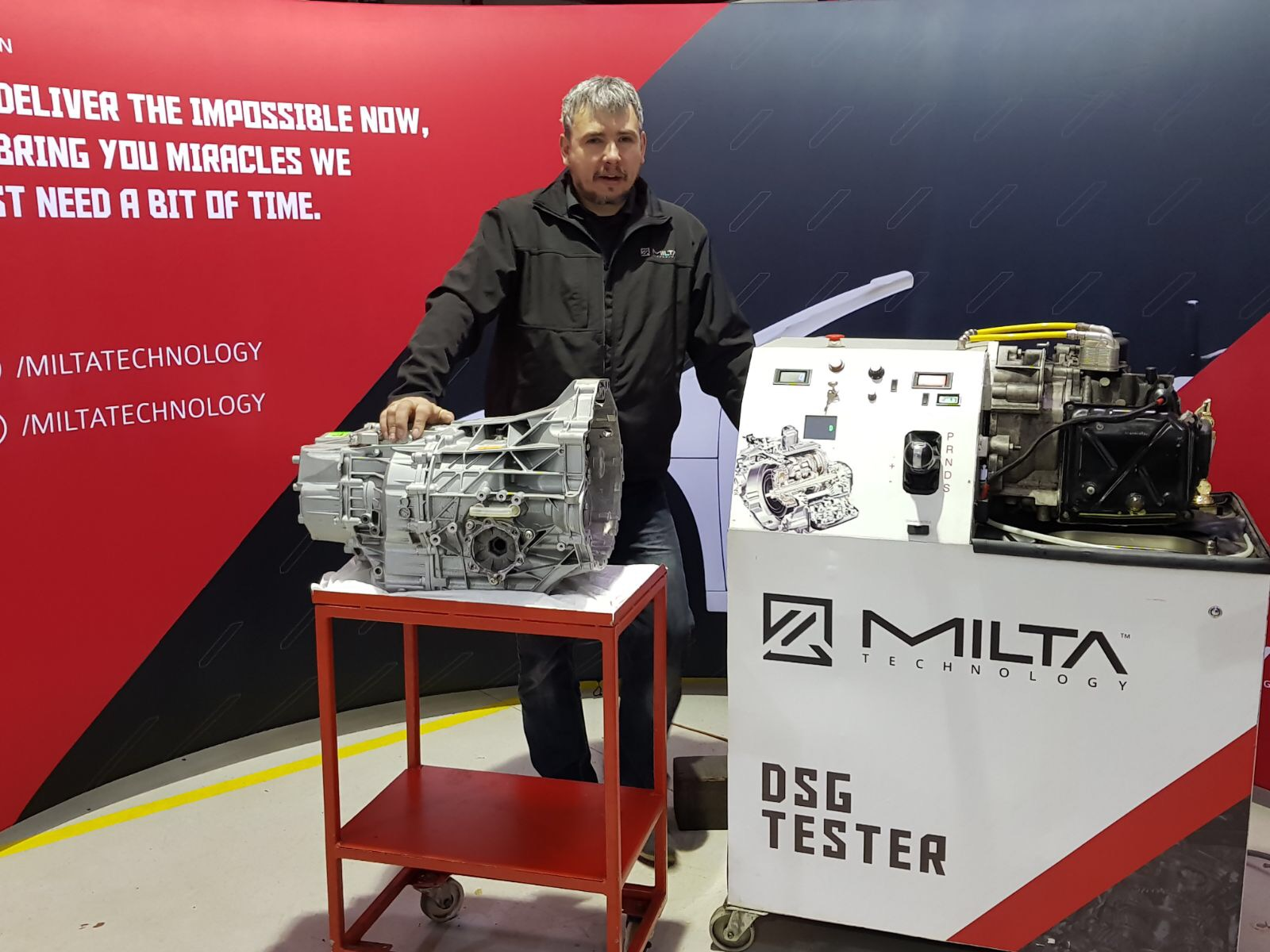 utomatic gearbox tester from milta technology