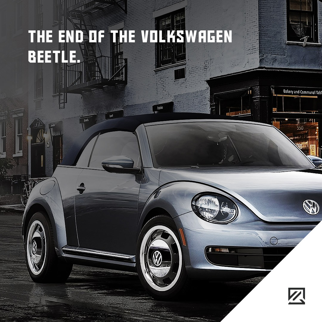 The End Of The Volkswagen Beetle. MILTA Technology
