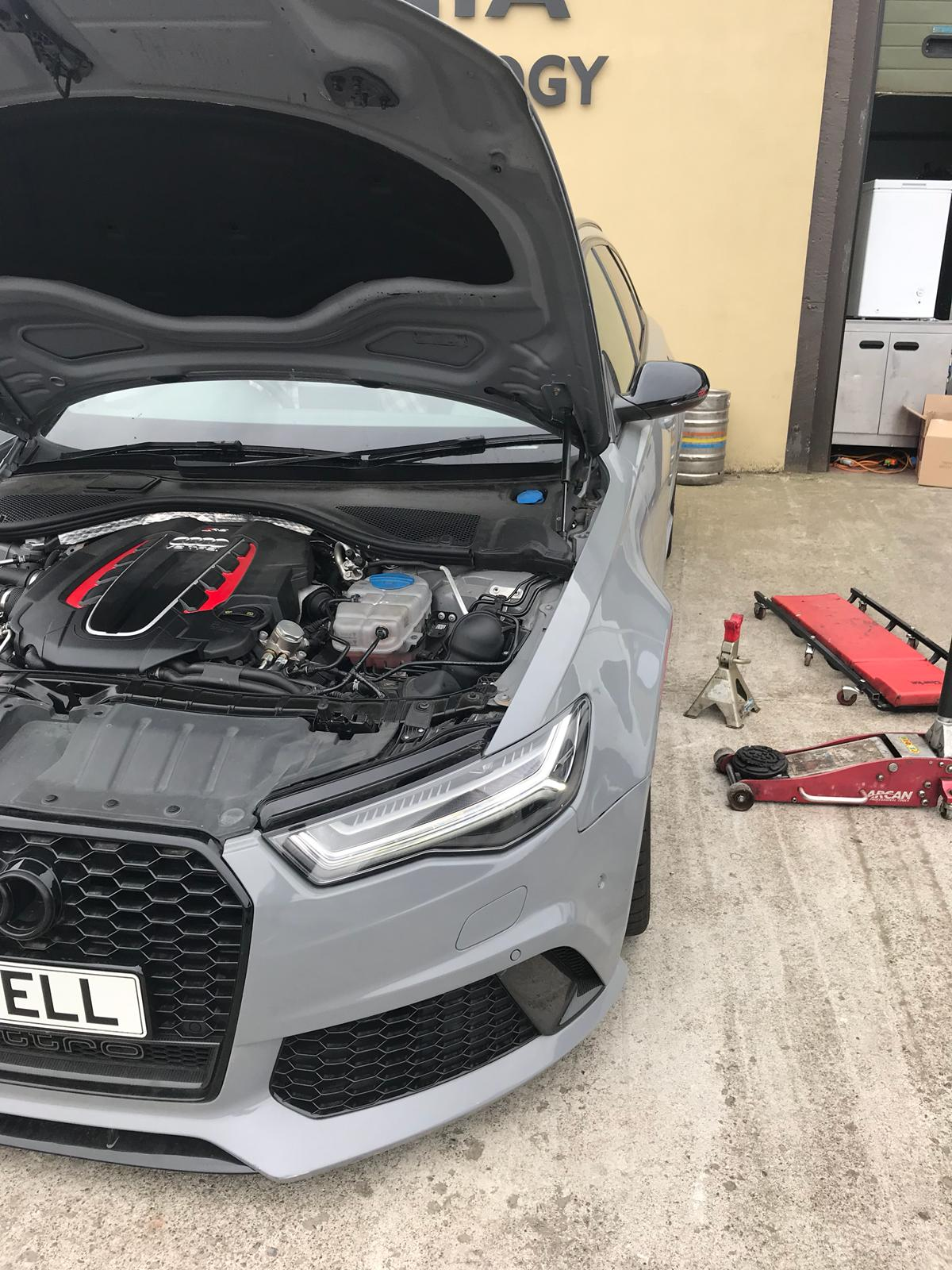 audi rs6 ransmission repair and replacement