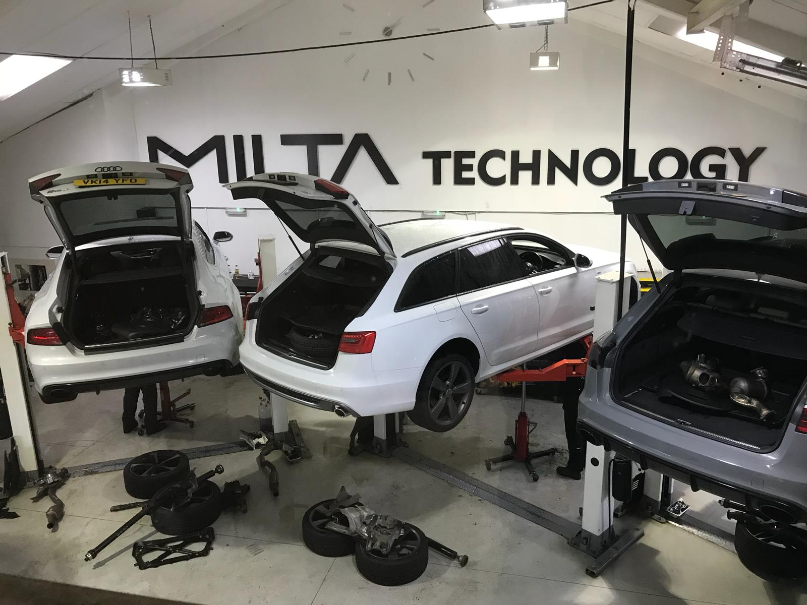 Milta Technology - service and automatic gearbox repair - replacement