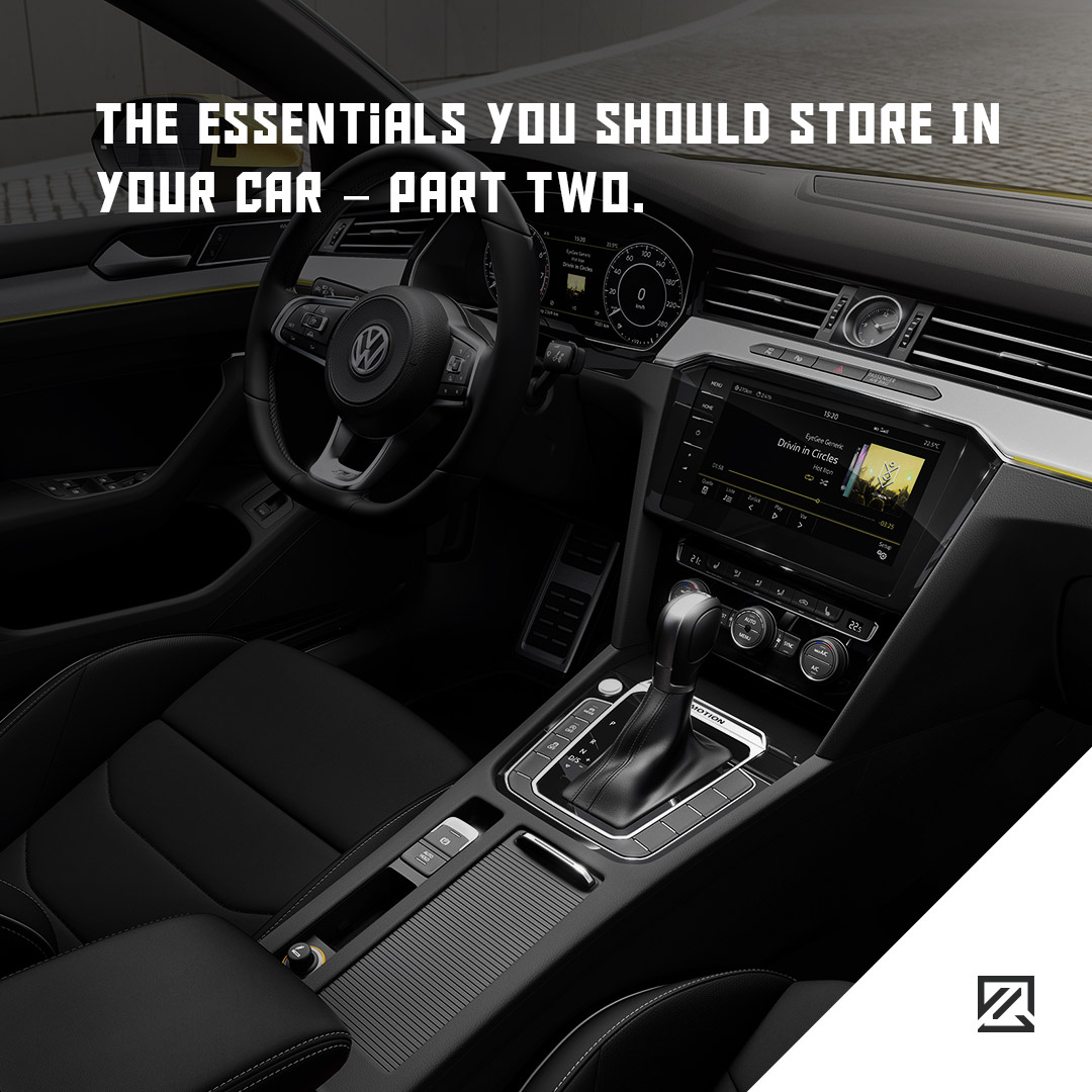 The Essentials You Should Store In Your Car – Part Two MILTA Technology