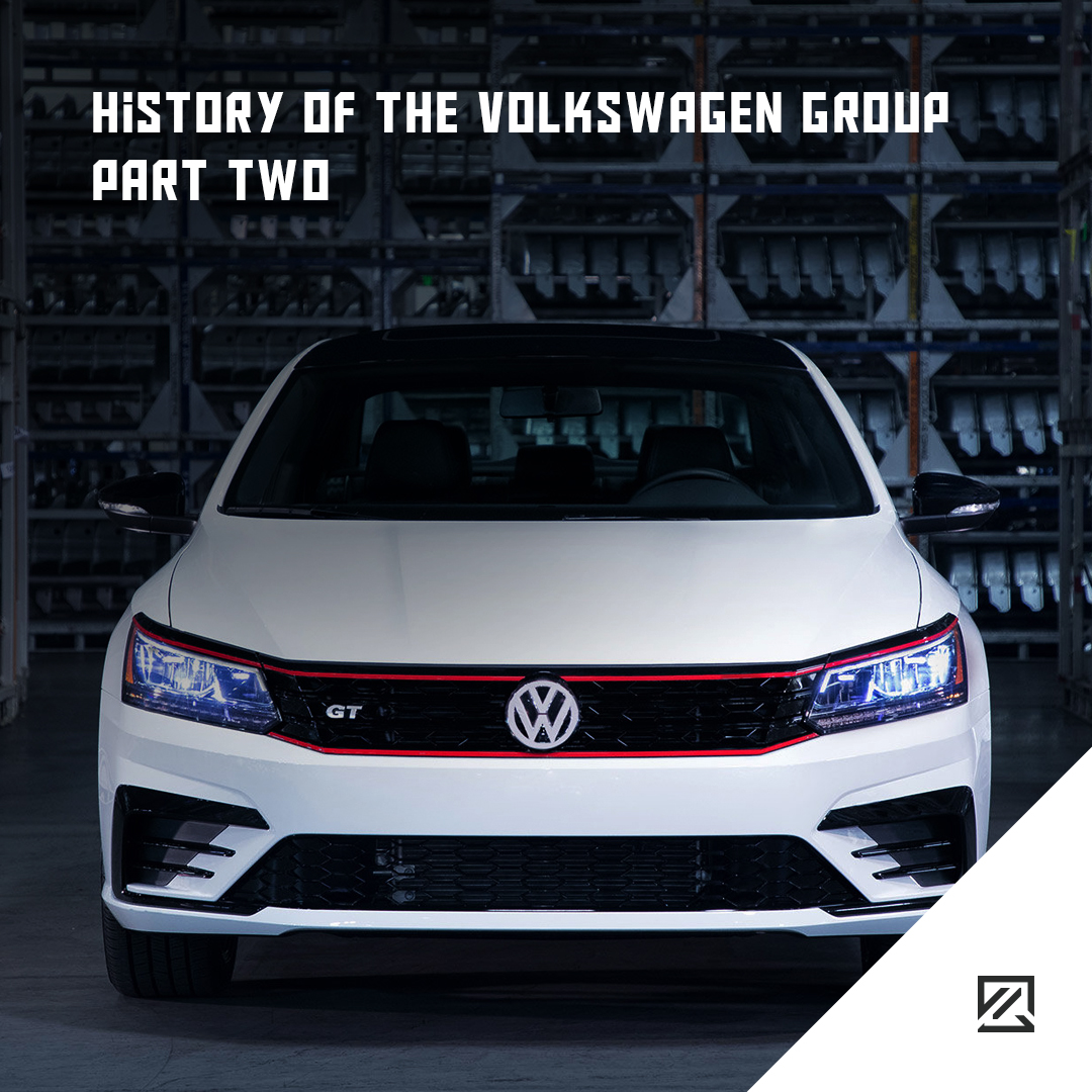 History of the Volkswagen Group Part Two MILTA Technology
