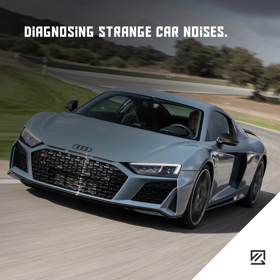 Diagnosing Strange Car Noises – MILTA Technology