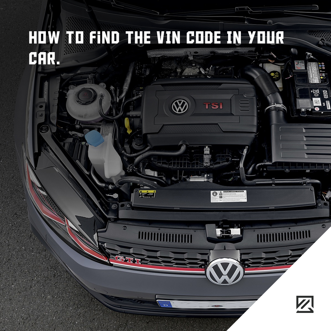 How To Find The VIN Code In Your Car MILTA Technology
