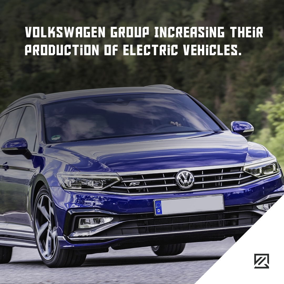 Volkswagen Group Increasing Their Production Of Electric Vehicles MILTA Technology