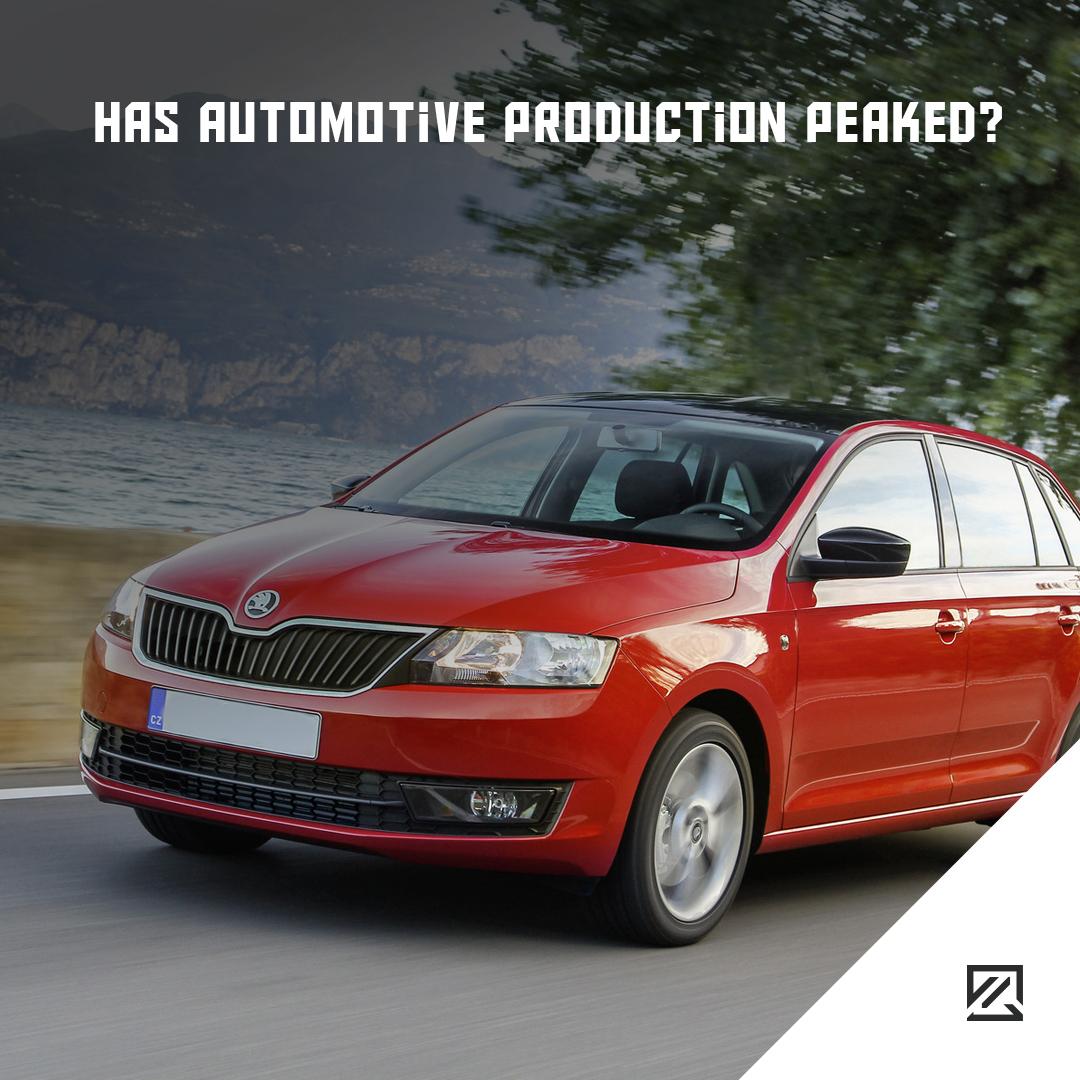Has Automotive Production Peaked? MILTA Technology