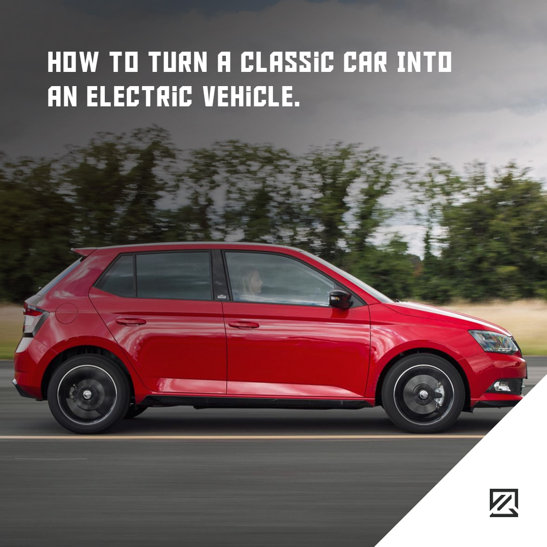 How To Turn A Classic Car Into An Electric Vehicle MILTA Technology