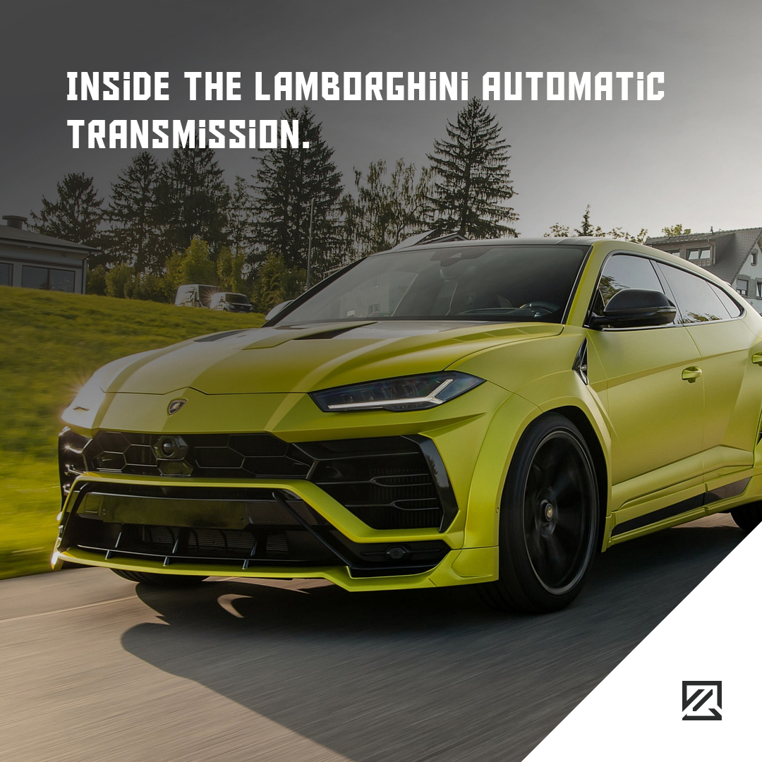 Inside The Lamborghini Automatic Transmission MILTA Technology