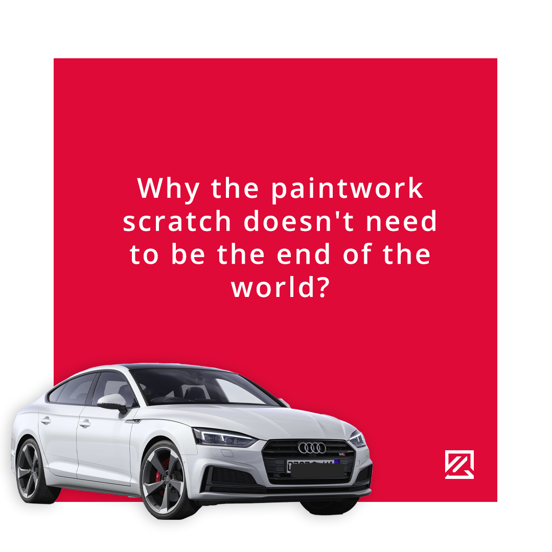 Why the Scratch on the Paintwork Needn't Be the End of the World MILTA Technology