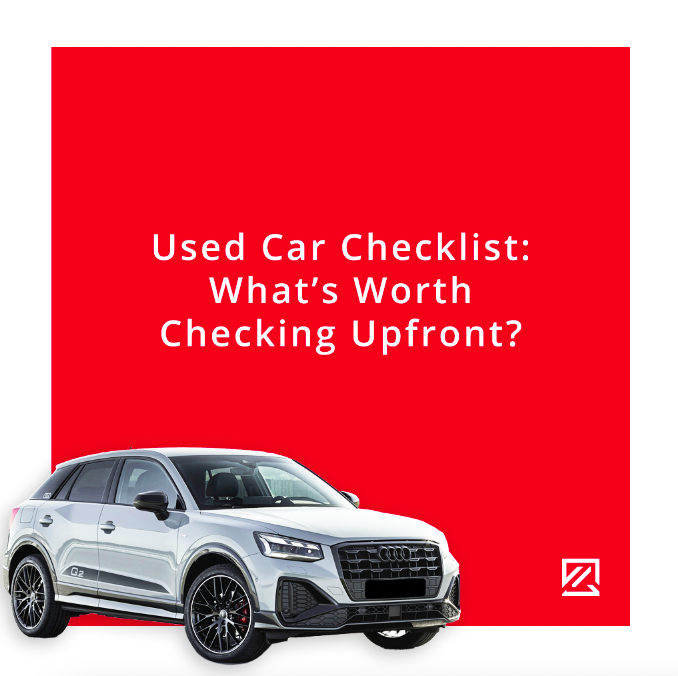 Used Car Checklist: What's Worth Checking Upfront? MILTA Technology